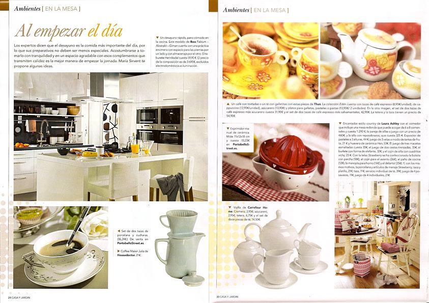 Revista casa y jard n mayo 2010 p ginas 24 y 30 for Casa y jardin revista