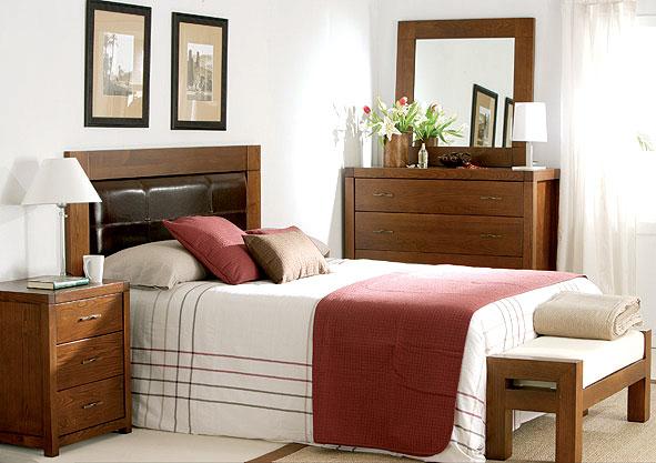 El dormitorio minimal en for Portobello muebles coloniales