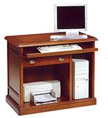 Mueble de ordenador e impresora clásico