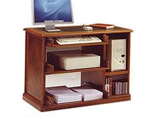 Mueble CPU regulable en altura clásico