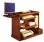 Mueble de ordenador 1 cajón clásico
