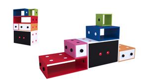 Librería modular Curiosite Colors