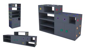 Librería modular Griz