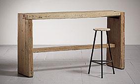 Barra de bar modelo tapas - Muebles Bar Coloniales y Rústicos - Muebles Coloniales y Muebles Rústicos
