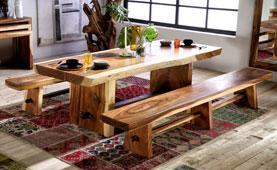 Mesa de comedor vintage Celes