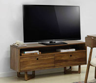 Mueble tv 2 puertas vintage Calvin - Muebles de Tv Vintage - Muebles Vintage