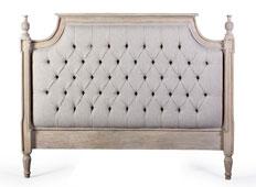 Cabecero bresse vintage Artisan - Cabeceros y Camas Vintage de madera - Muebles Vintage
