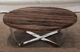 Mesa de centro redonda moderna Seducti