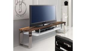 Mueble tv con estante moderno Seducti