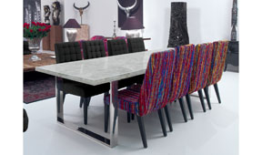 Mesa de comedor moderna Ducote