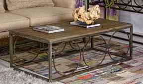 Mesa de centro vintage Bellay
