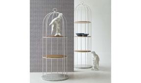 Librería blanca moderna Tweet Tonin Casa