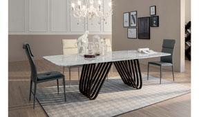 Mesa de comedor moderna Arpa Tonin Casa