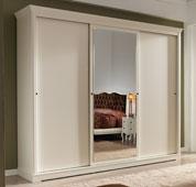 Armario ancho 3 puertas clásico Filadeo