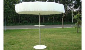 Parasol blanco Blabla
