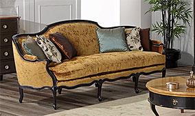 Sofá clásico Louis XV