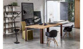 Mesa de comedor industrial Disme Devina Nais