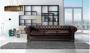 Sofá clásico chester Kensington