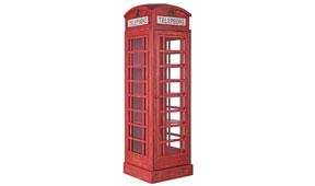 Vitrina grande cabina telefonica London - Vitrinas Vintage - Muebles Vintage