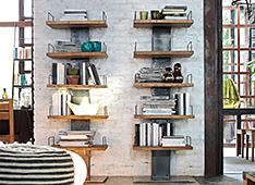 Librería vintage infinity - Librerías Vintage - Muebles Vintage