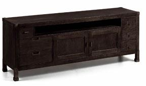 Mueble tv 6 cajones vintage Industrial