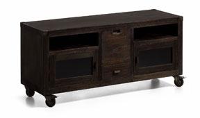 Mueble tv con ruedas vintage Industrial