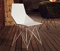 Silla y sillón de jardín Faz