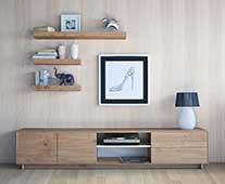 Mueble de tv nordic Purline - Muebles de Tv de Diseño - Muebles de Diseño