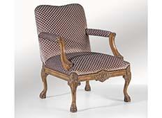 Butaca clásica Saphira tapizada