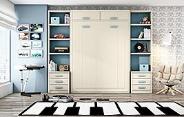 Dormitorio doble ilusión