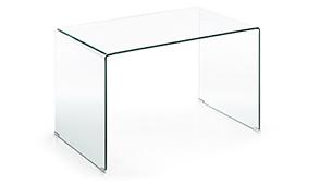 Escritorio Burano cristal transparente