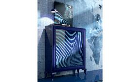 Aparador alto 2 puertas berlin Zebra