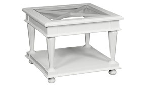 Mesa de rincón aspas vintage Beri