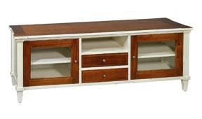 Mueble tv 2 puertas vintage Poitier