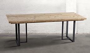 Mesa de comedor industrial Iron