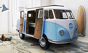 Cama Bun Van VW Camper