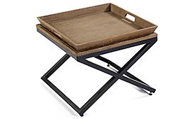 Mesa de rincón vintage Kembar