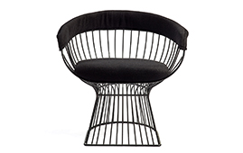 Sillón cromoda negro Kemul - Sillas y Sillones Vintage - Muebles Vintage
