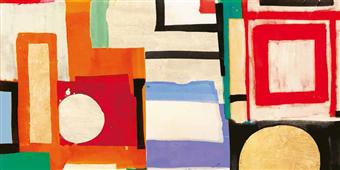 Cuadro canvas abstracto ships sailing quietly