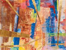 Cuadro canvas  abstracto andalusia