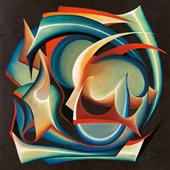Cuadro canvas abstracto inverno