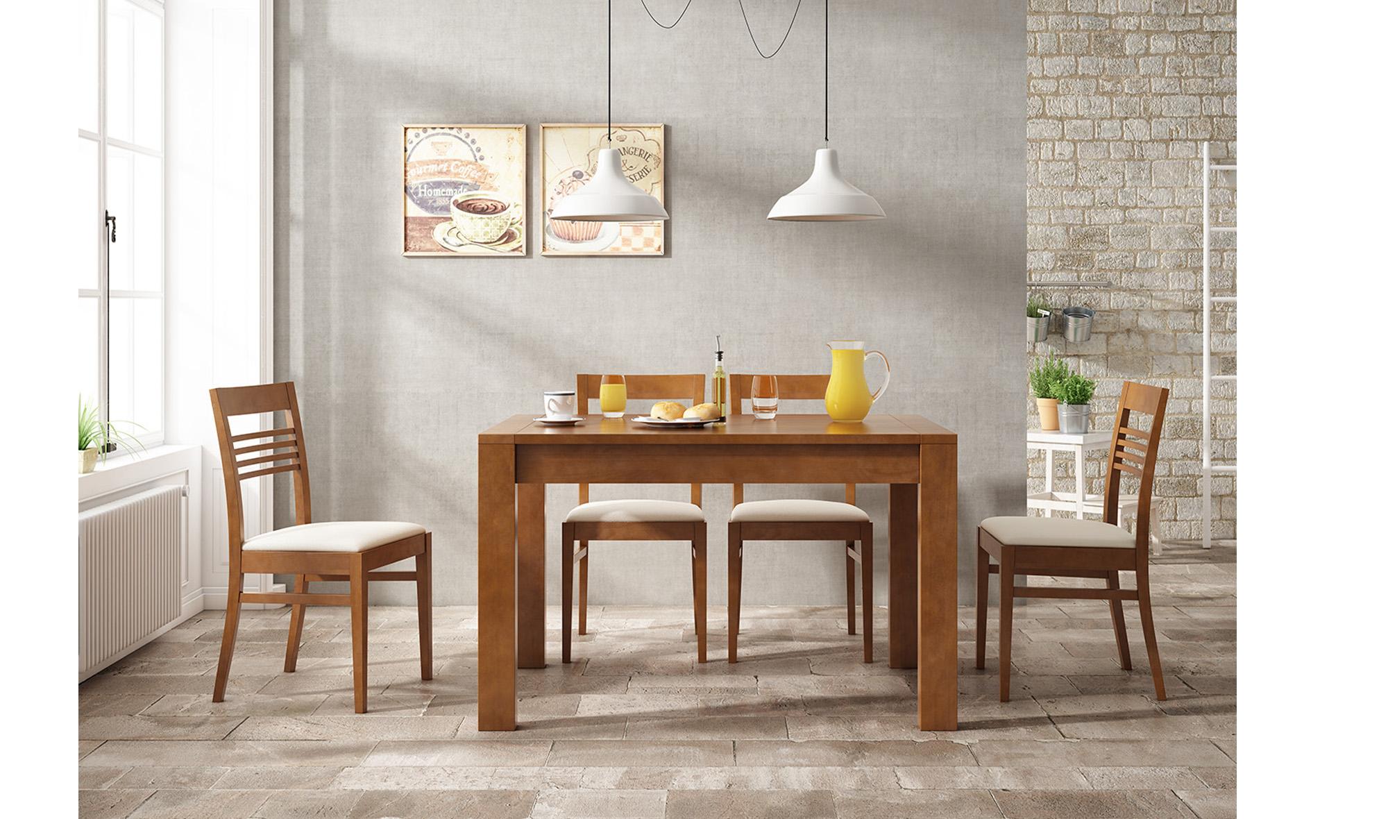 Mesas de comedor coloniales y r sticas en cosas de for Mesas de comedor cuadradas modernas