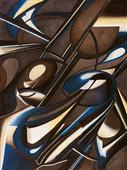 Cuadro canvas abstracto due di due