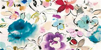 Cuadro canvas flores floral galore