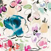 Cuadro canvas flores floral funk I