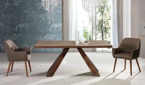 Mesa de comedor oak Cabibes