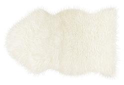 Alfombra piel de Mouton blanco - Alfombras de Piel Natural - Objetos de Decoración