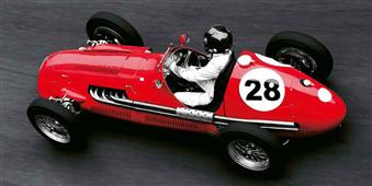 Cuadro canvas historica race car grand prix monaco