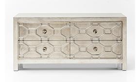 Aparador étnico Alhambra 4 cajones - Aparadores Coloniales y Rústicos - Muebles Coloniales y Muebles Rústicos