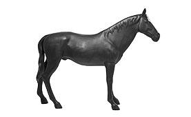 Figura decorativa Hose Negro